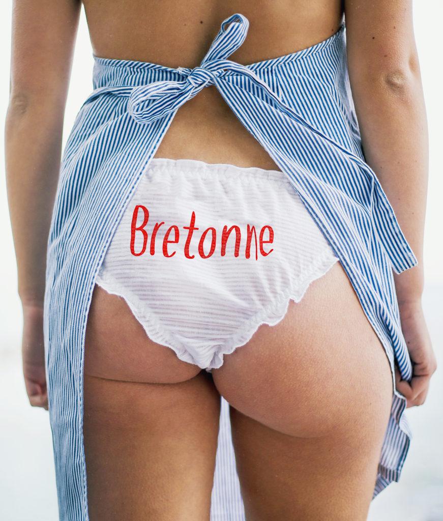 Culotte «Bretonne» blanche