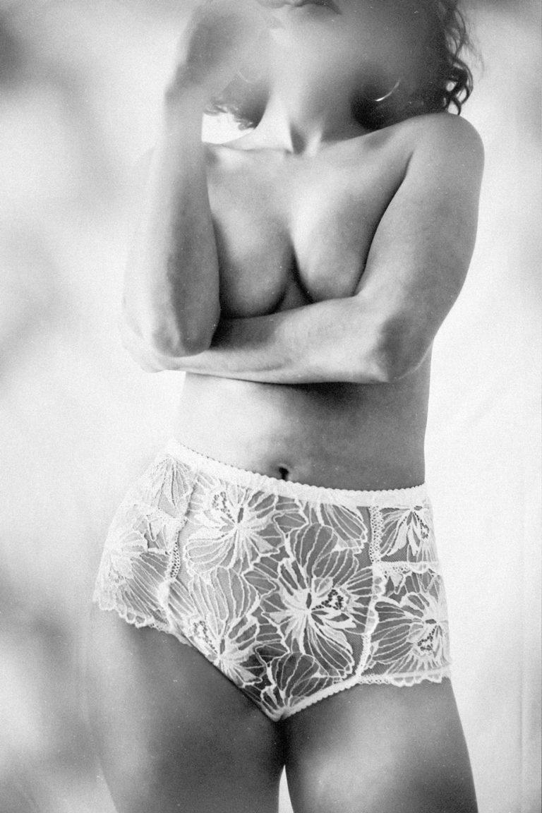 Culotte haute «levenez» Blanche