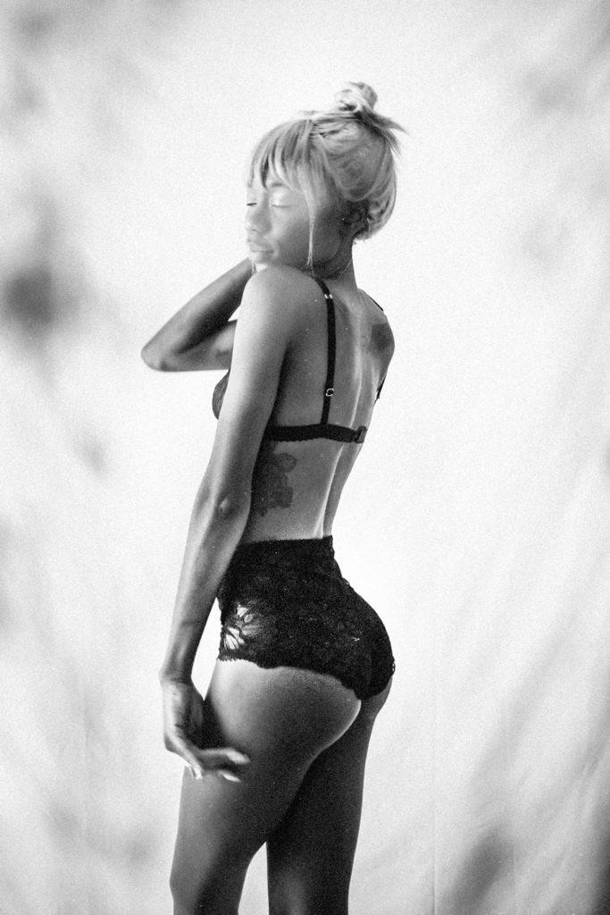 Culotte haute «levenez» noir