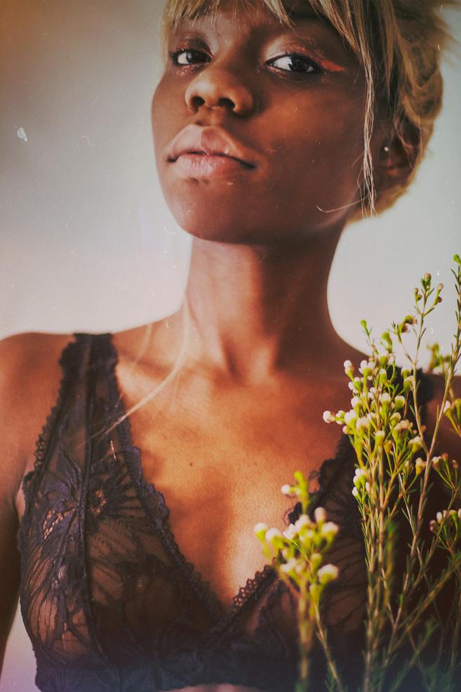 soutien-gorge foulard «levenez» noir