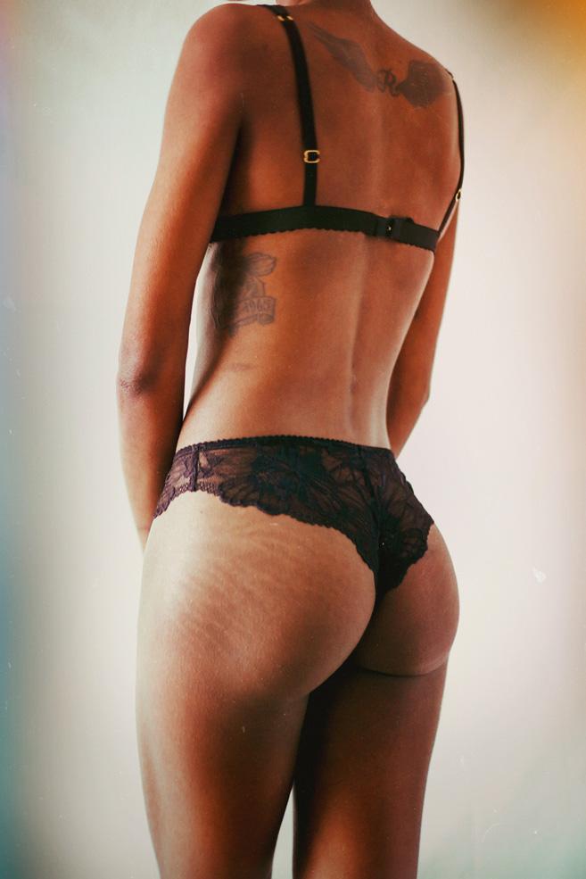 Brésilien «levenez» noir