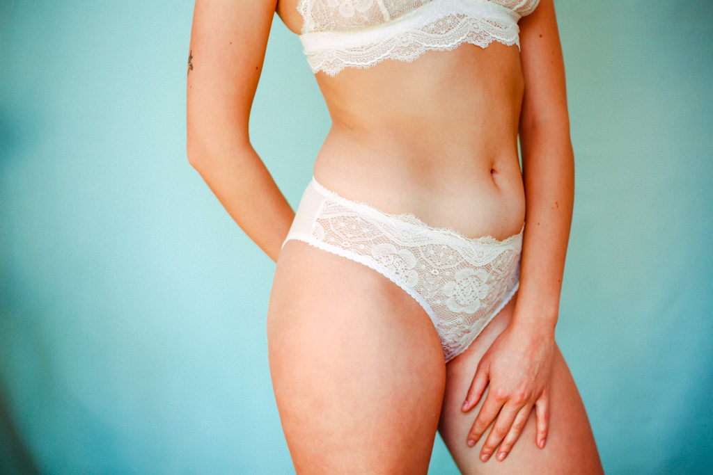 Culotte «bleuenn» Blanc